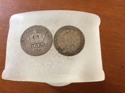 2 Pièces De Centimes 1865K Et 1882A - Frankrijk