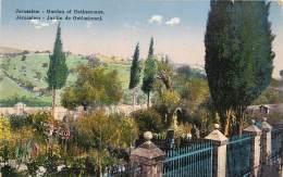 JERUSALEM    JARDIN DE GETHESEMANI