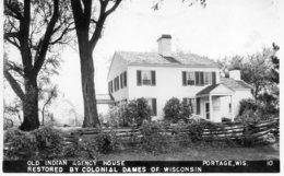 Portage. Old Indian Agency House. - Etats-Unis