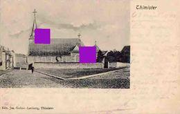 Thimister église  Cachet Postal De Thimister Clermont En 1905 - Thimister-Clermont