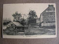 Carte Postale Ancienne 58 Nievre Corbigny Le Lavoir Bains - Corbigny