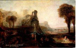 TUCKS OILETTE 2774 - JMW TURNER - PALACE AND BRIDGE OF CALIGULA - Paintings