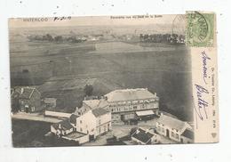 Cp , BELGIQUE , WATERLOO , Panorama Vue Du Haut De La Butte , Dos Simple , Voyagée 1905 - Waterloo