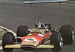 Lotus 49B  -  Graham Hill  -  CP - Grand Prix / F1