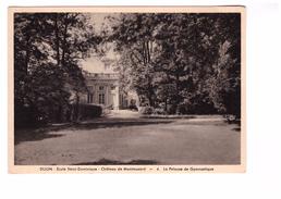 21 Dijon Chateau De Montmusard Ecole Sainte Dominique La Pelouse De Gymnastique - Dijon