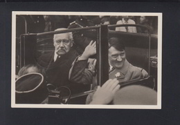 Dt. Reich AK Hindenburg Und Hitler  Jugendkundgebung Im Lustgarten 1940 - Personaggi Storici