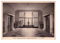 21 Dijon Chateau De Montmusard Ecole Sainte Dominique Le Hall - Dijon