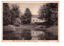 21 Dijon Chateau De Montmusard Ecole Sainte Dominique La Piece D' Eau - Dijon