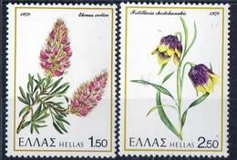PIA - GRECIA. - 1978 : Fiori -   (Yv 1280-85)