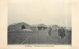 AVIATION - Manoeuvres De Picardie(sinet Granvillier). - Guerre