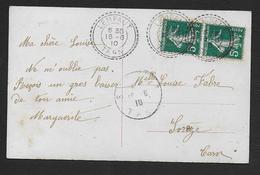 Tarn -  Cachet Pointillé  De  LEMPAUT - Marcophilie (Lettres)