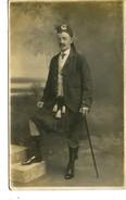 SCOTLAND - MAN IN FULL SCOTTISH DRESS RP - Scotland