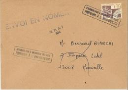 """Préo 194 Sur Lettre Avec Mention """"retour à L'envoyeur"""" Entre Autres"""