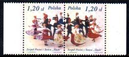 Pologne Poland Polska 3827/28 Danses Folkloriques