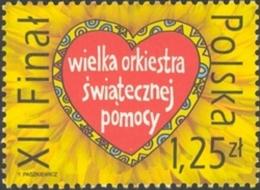 Pologne Poland Polska 3843 Cœur , Charité , Chants