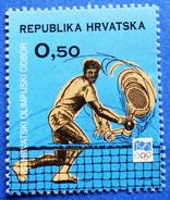 CROATIA CHARITY MNH STAMP 0,50 Kn.1994 CROATIAN OLYMPIC COMMITTEE - TENNIS Type:II - Kroatië