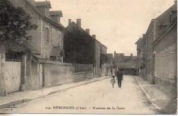 18 NERONDES  Avenue De La Gare - Nérondes