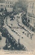 MOULINS - N° 7 - CATASTROPHE DU DIRIGEABLE REPUBLIQUE LE 25 SEPTEMBRE 1909 - FUNERAILLES DES VICTIMES A MOULINS LE CLERG