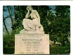 Cp - BOURGTHEROULDE (27) - Monument Aux Morts - Bourgtheroulde