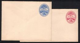 1895, SEYCHELLES, Two Stationery Envelopes