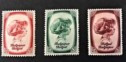 1938 Anti-tering / Prins Van Luik OCB 492*),494*),495*)
