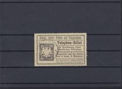 Bayern Telephon-Billet Gebraucht