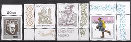 Bund 1994 / MiNr.   1753 , 1762 , 1763 , 1764  Ränder   ** / MNH   (e628)