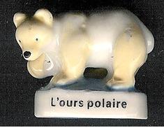 """Fève Série """"Découverte Du Monde Polaire"""" 2008: L'ours Polaire - Pays"""
