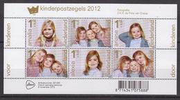 Nederland 2012 Kinderpostzegels Velletje / Shtlt ** Mnh (34930) - Neufs