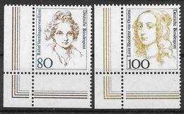 Bund 1994 / MiNr.   1755 – 1756  Linke Untere Ecken   ** / MNH   (e629)