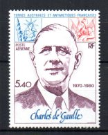 French Southern & Antarctic Territories  - 1980 - 10th Death Anniversary Of Charles De Gaulle - MNH - Terres Australes Et Antarctiques Françaises (TAAF)