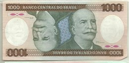 BILLETE DE 1000 REALES - Brasil