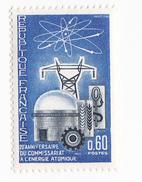 Timbre France 0,60ct 1965 (1519) Non Oblitéré - 20eme Anniversaire Du Commissariat à L Energie Atomique - Frankrijk