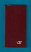 Agenda De Poche Vierge De La Banque Crédit Agricole Du Calvados 1995. - Livres, BD, Revues