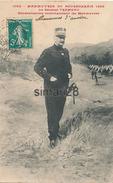MANOEUVRE DU BOURBONNAIS 1909 - N° 1000 - LE GENERAL TREMEAU GENERALISSIME COMMANDANT LES MANOEUVRES