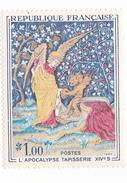 Timbre France 0,30ct 1965 (1520) Non Oblitéré - L'apocalypse Tapisserie XIVs - Neufs