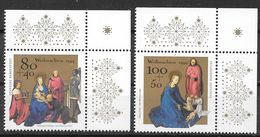 Bund 1994 / MiNr.   1770 – 1771  Rechte Obere Ecken   ** / MNH   (e632)