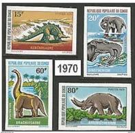 Congo Dinosaurs Dinosaures Imperf