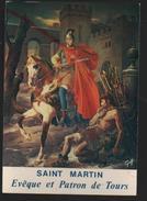Cpm 379703 Cathédrale Saint Gatien Tours , Saint Martin évèque Et Patron De Tours