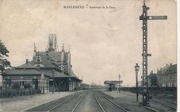 HARELBEKE == INTERIEUR DE LA GARE - Harelbeke