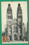 CPA I&LOIRE 9 /185 - TOURS, Cathédrale Saint-Gatien
