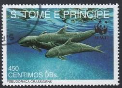 Pseudorca Crassidens (False Killer Whale) Used Stamp - Dolphins