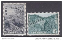 Japan - Japon 1970 Yvert 976-77, National Park Of Yoshino Kumano - MNH - 1926-89 Emperador Hirohito (Era Showa)