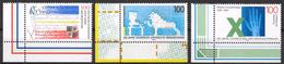 Bund 1995 / MiNr.   1782 , 1783 , 1784  Linke Untere Ecken   ** / MNH   (e636)