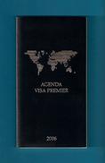 Agenda De Poche Vierge VISA PREMIER HSBC 2006. - Libros, Revistas, Cómics