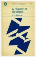 Postcard Pelican Bk.Covers - J.D. Mackie - A History Of Scotland 1964 New - Postcards