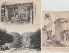 17  / 2 / 390  -  LOT  DE  6  CPA  DE  COUCY  LE  CHÂTEAU   ( 02 ) - 5 - 99 Postcards