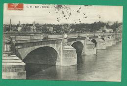 CPA I&LOIRE 10 /185 - TOURS, Le Pont De Pierre
