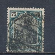 Duitse Rijk/German Empire/Empire Allemand/Deutsche Reich 1918 Mi: 104 Yt: 103 (Gebr/used/obl/o)(1335)