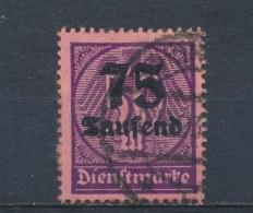 Duitse Rijk/German Empire/Empire Allemand/Deutsche Reich 1923 Mi: DM 91 Yt:  (Gebr/used/obl/o)(1336)